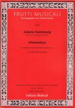 AA.VV. : Catena Sammlung. Intavolatura mit Werken von Frescobaldi, Tarditi u. a. , für Orgel (oder Cembalo)