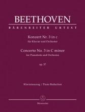 Beethoven, L. van : Concerto n. 3 op. 37 per Pianoforte e Orchestra, riduzione per 2 Pianoforti. Urtext