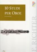Richter, F. : 10 Studi per Oboe o Sassofono