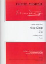 Strauss, J. : Klipp-Klapp Galopp, op. 466. Partitura