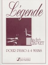 Caplet, A. : Pour Piano a 4 mains