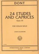 Dont, J. : Studi e capricci op. 35, per Violino