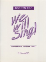 AA.VV. : We will Sing! For Children's Choir, vol. 3