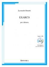 Bonetti, Leonardo : Exarco, per Chitarra. Libro+Cd