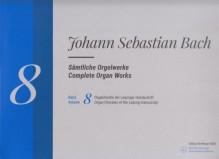 Bach, J.S. : Composizioni per Organo, vol. VIII. Urtext