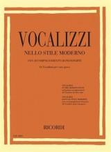 AA.VV. : Vocalizzi nello stile moderno, per Voce grave e Pianoforte