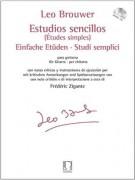 Brouwer, Leo : Studi semplici, per Chitarra