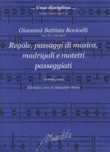 Bovicelli, Giovanni Battista : Regole, passaggi di musica, madrigali e motetti passeggiati (Venezia, 1594)