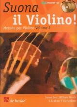 AA.VV. : Suona il Violino. Metodo per Violino, vol. II