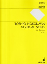 Hosokawa, T. : Vertical Song, per Flauto solo
