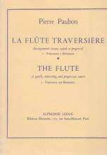 Paubon, P. : La Flute Traversière. Corso rapido e progressivo, vol. 2: preparatorio ed elementare