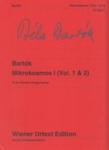 Bartók, B. : Mikrokosmos I (vol. 1 & 2), per Pianoforte. Urtext
