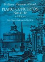 Mozart, Wolfgang Amadeus : Concerti per Pianoforte e Orchestra nn. 11-16. Partitura