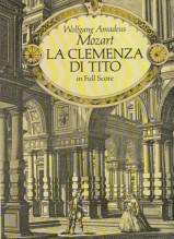 Mozart, Wolfgang Amadeus : La Clemenza di Tito. Partitura