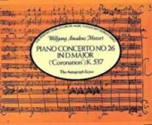 Mozart, W.A. : Concerto per Pianoforte e Orchestra n. 26 K 537. Facsimile