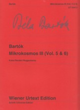 Bartók, B. : Mikrokosmos III (vol. 5 & 6), per Pianoforte. Urtext