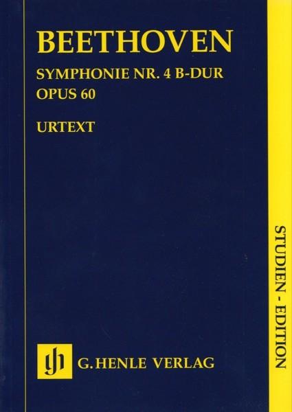Beethoven, L. van : Sinfonia n. 4 op. 60 in si bemolle, partitura tascabile. Urtext