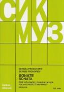 Prokofieff, Sergej : Sonata op. 119, per Violoncello e Pianoforte