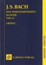 Bach, J.S. : Il Clavicembalo ben temperato, vol. II. Partitura tascabile. Urtext