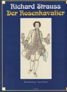 Strauss, Richard : Der Rosenkavalier. Riduzione per Canto e Pianoforte