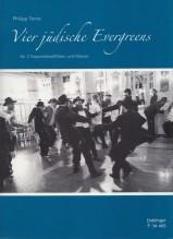 AA.VV. : 4 Jüdische Evergreens, per 2 Flauti dolci Soprani e Pianoforte