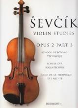Sevcik, O. : Op. 2 parte 3. Scuola di tecnica dell'arco per Violino