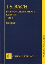 Bach, J.S. : Il Clavicembalo ben temperato, vol. I. Partitura tascabile. Urtext