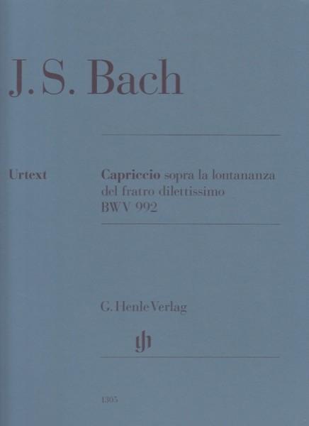 Bach, J.S. : Capriccio sopra la lontananza del fratro dilettissimo BWV 992, per Clavicembalo. Urtext