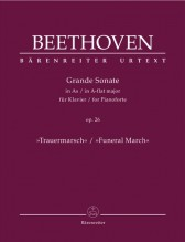 Beethoven, L. van : Sonata op. 26 Funeral March, per Pianoforte. Urtext