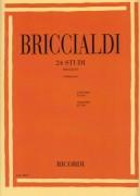 Briccialdi, G. : 24 studi per Flauto