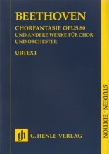 Beethoven, L. v. : Works for Choir and Orchestra. Partitura tascabile. Urtext