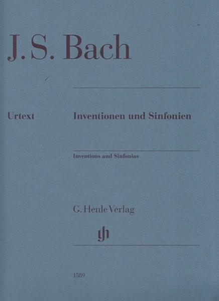 Bach, J.S. : Inventionen und Sinfonien, per Clavicembalo. Urtext