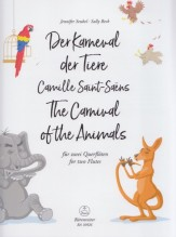 Saint-Saëns, Camille : The Carnival of the Animals, for two Flutes