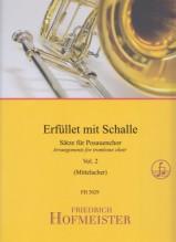 AA.VV. : Erfüllet mit Schalle! Arrangiamenti per Ensemble di Tromboni, vol. 2