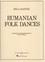 Bartók, B. : Rumanian Folk Dances. Score and Parts