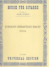 Bach, J.S. : Fuga in la minore dalla sonata I per Violino solo BWV 1001, trascrizione per Chitarra