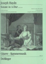 Haydn, Franz Josef : Sonata in la Hob. XVI:30, per Flauto e Chitarra