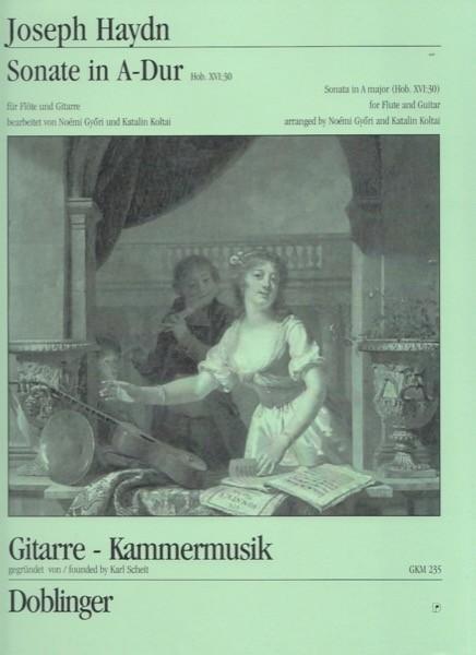 Haydn, J. : Sonata in la Hob. XVI:30, per Flauto e Chitarra