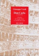 Verdi, G. : Don Carlo, libretto
