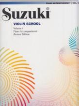 Suzuki : Violin School, vol. 4. Piano Accompaniment