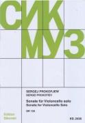Prokofieff, S. : Sonata op. 134, per Violoncello solo