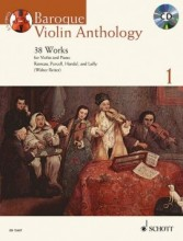 AA.VV. : Baroque Violin Anthology