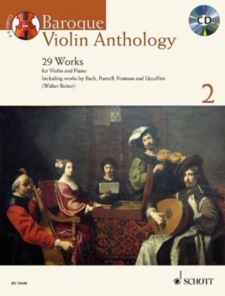 AA.VV. : Baroque Violin Anthology, vol. 2