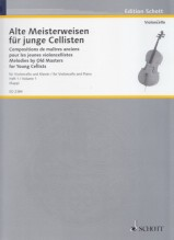 AA.VV. : Melodies by Old Masters for Young Cellists, vol. 1