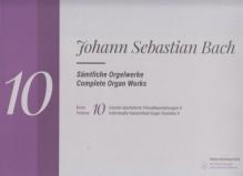 Bach, J.S. : Composizioni per Organo, vol. X. Urtext