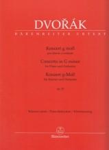 Dvorák, Antonín : Concerto op. 33, per Pianoforte e Orchestra. Riduzione per 2 Pianoforti. Urtext
