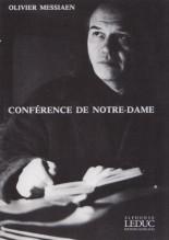 Messiaen, Olivier : Conférence de Notre-Dame