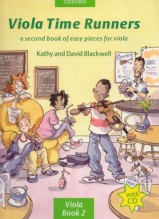 Blackwell, K. - Blackwell, D. : Viola Time Runners. A second Book of easy pieces for Viola