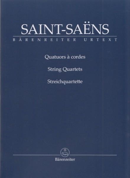 Saint-Saens, C. : String Quartets. Partitura tascabile. Urtext