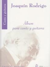 Rodrigo, J. : Album para Canto y Guitarra